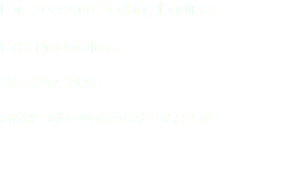 For Press and Booking Inquiries: B+B Productions 917. 287. 2095 EMAIL: INFO@BEATKAESTLI.COM